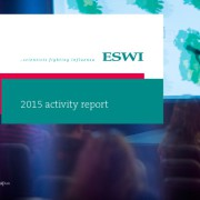 thumbnail of ESWI_2015 activity report